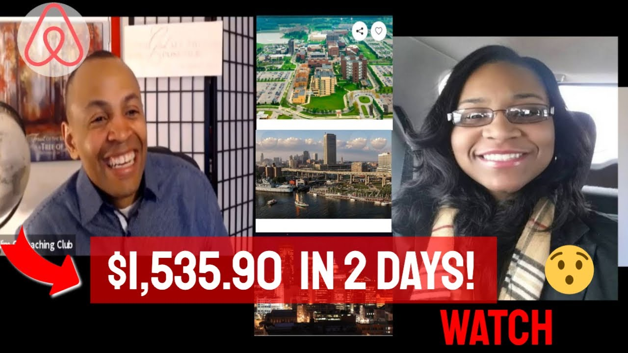 MAKE MONEY ON AIRBNB RENTAL ARBITRAGE REAL ESTATE INVESTING (EASY!)