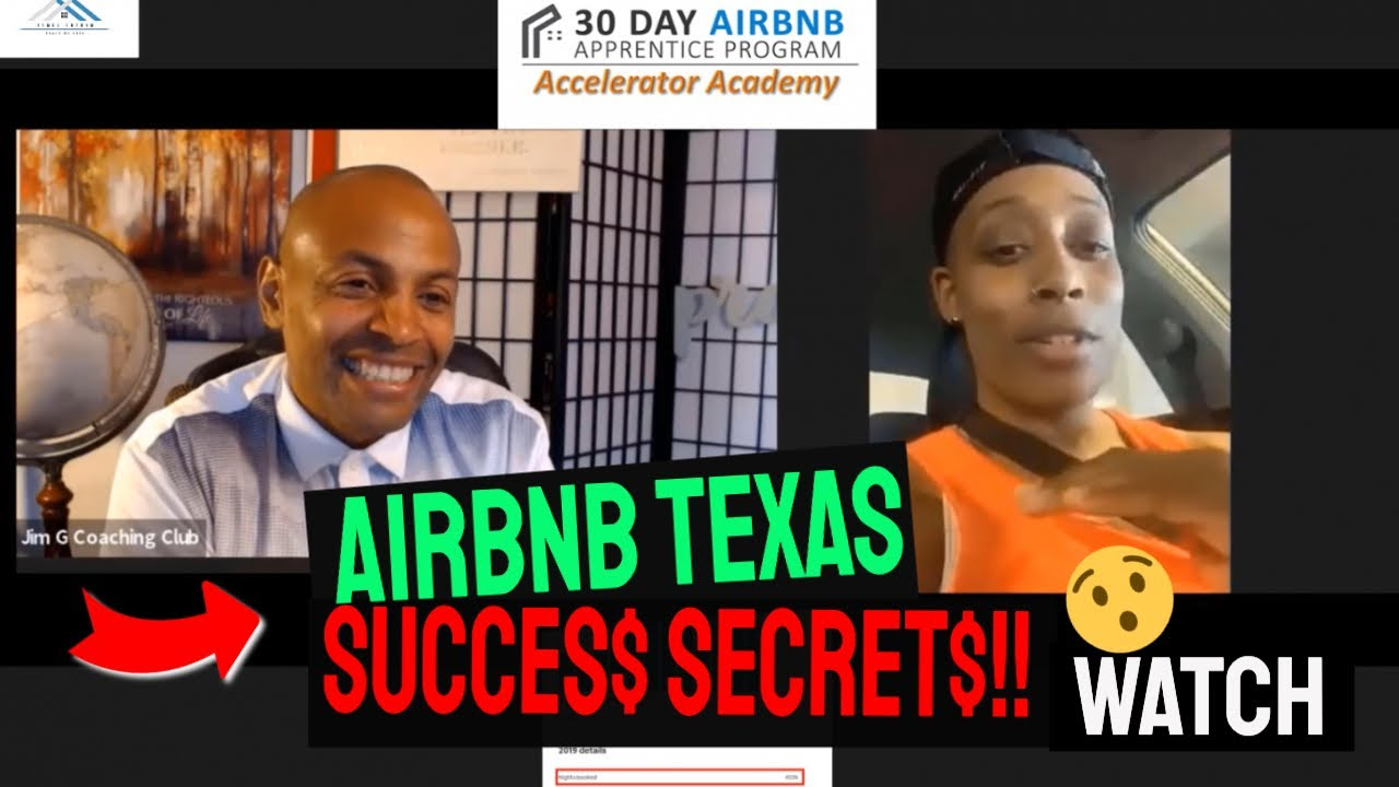 AirBNB RENTAL ARBITRAGE TEXAS AIRBNB SUCCESS STORY AMAZING! Andrea