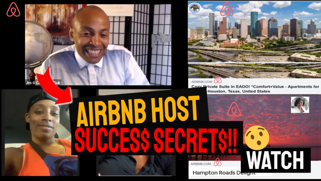 AIRBNB HOST TIPS FOR BEGINNERS - (Passive Income Secrets!)