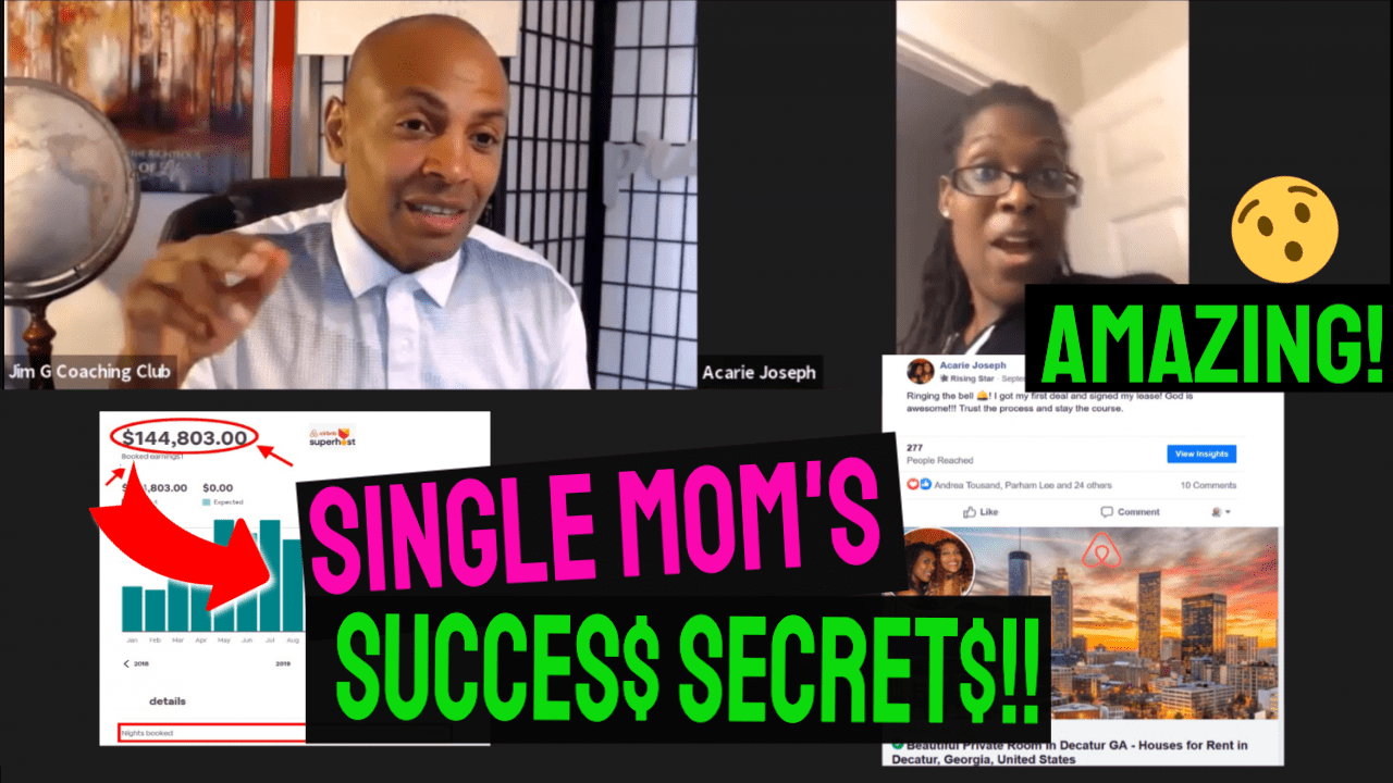 AirBNB RENTAL ARBITRAGE - SINGLE MOM'S AIRBNB SUCCESS STORY (AMAZING!)