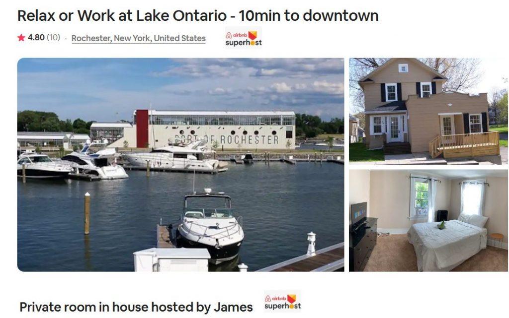 Airbnb Rochester New York