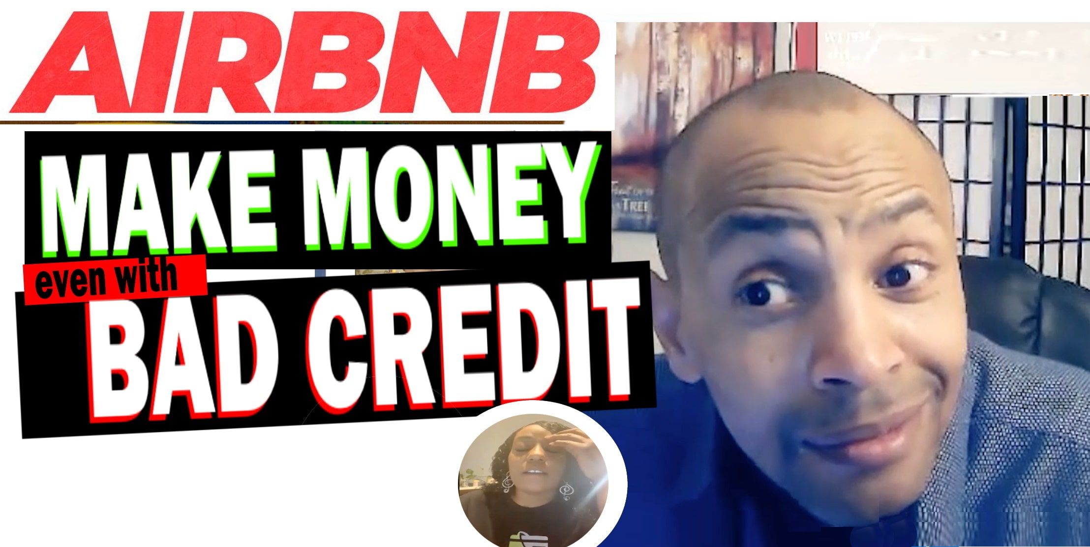 DONT LET BAD CREDIT STOP YOU - MAKE MONEY ON AIRBNB WITHOUT PROPERTY (AIRBNB HOST TIPS SECRETS)