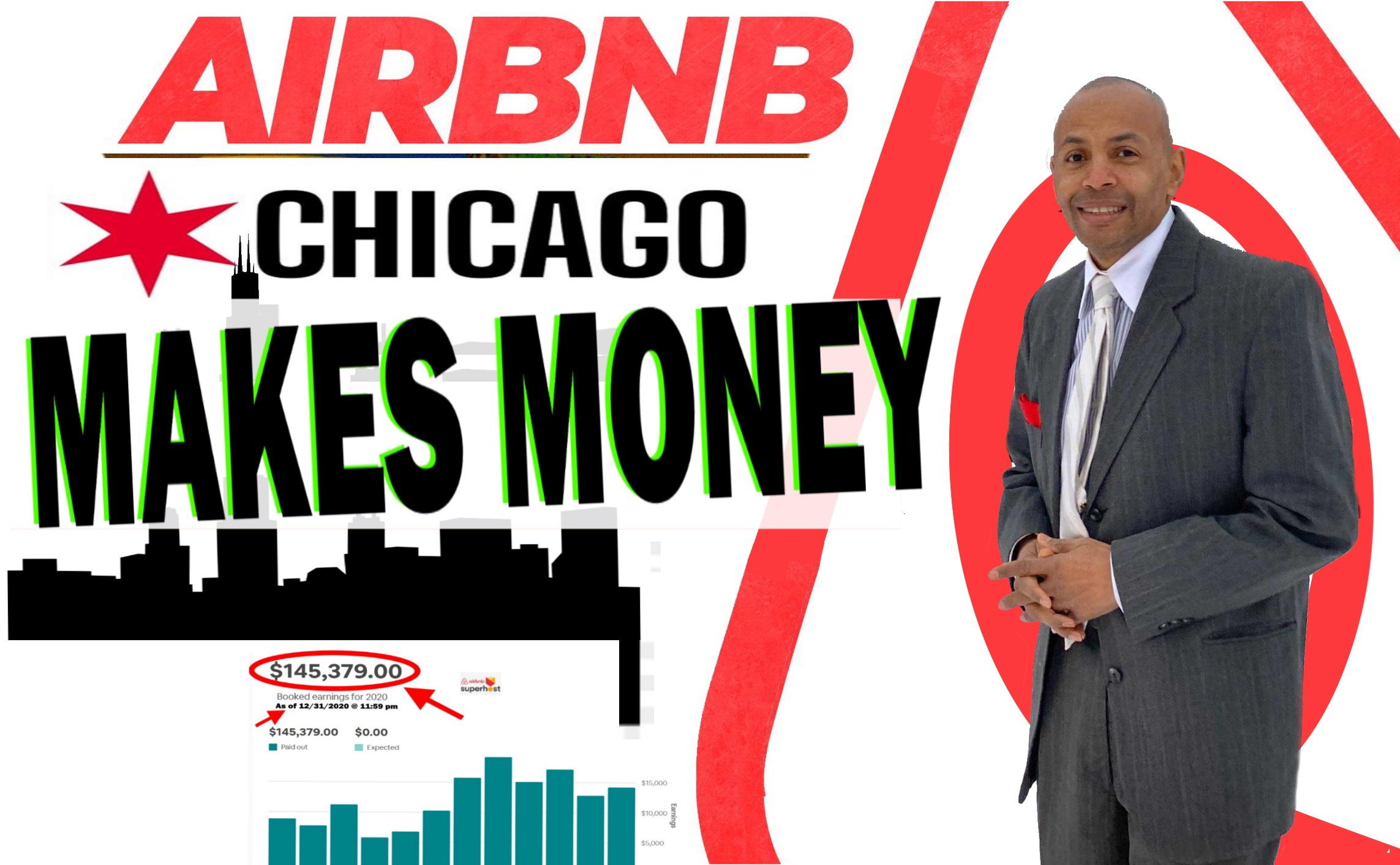 AIRBNB CHICAGO MAKES MONEY | RENTAL ARBITRAGE AIRBNB SECRETS!