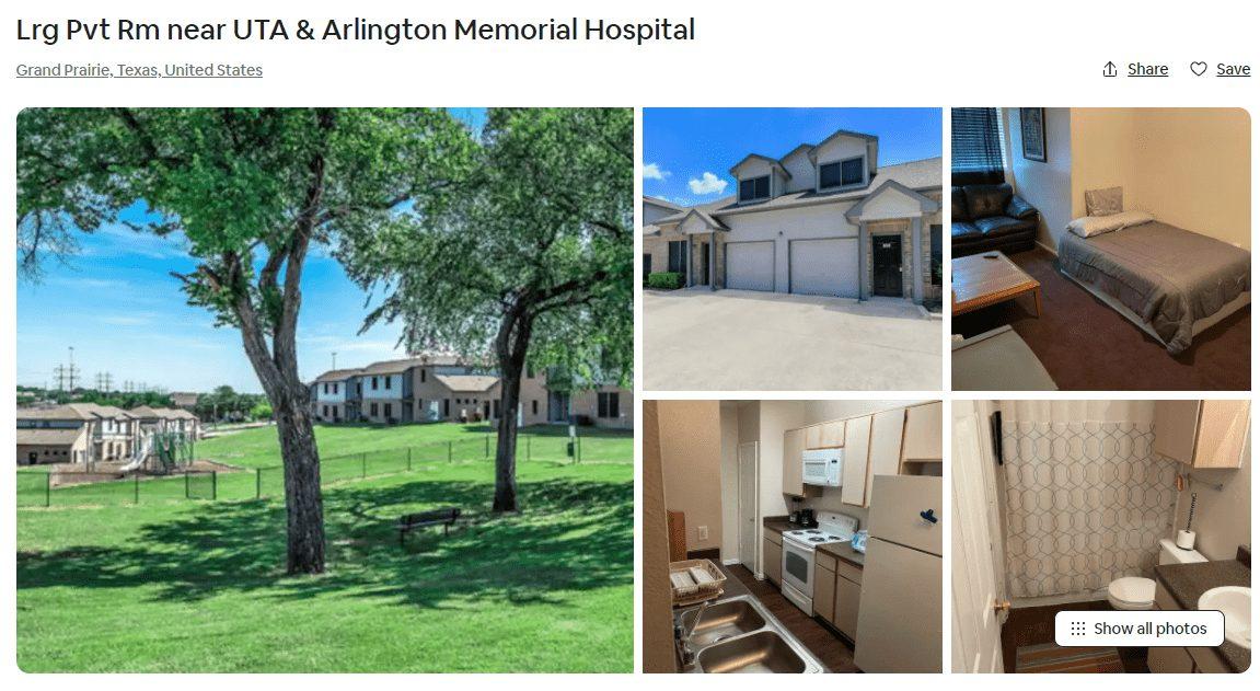 Airbnb Grand Prairie, Texas