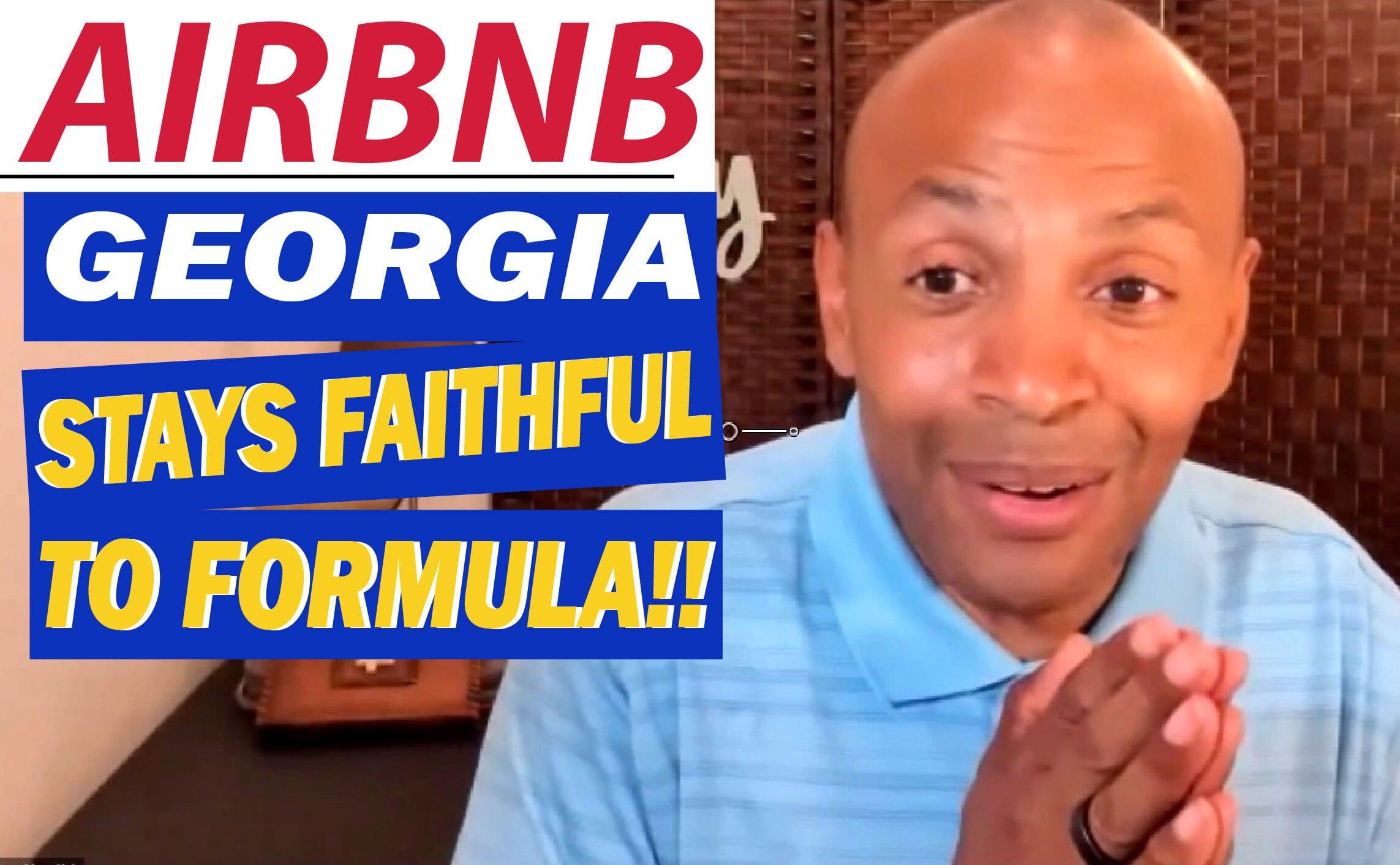 AirBNB Georgia Makes Money!!   AIRBNB Rental Arbitrage! IT WORKS